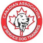 Canadian-Association-of-Service-Dog-Trainers Logo