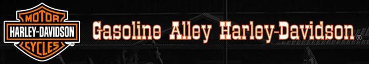 GASOLINE ALLEY HARLEY DAVIDSON LOGO