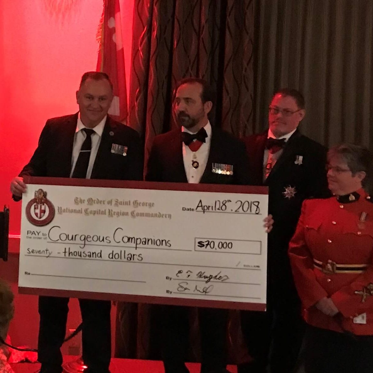 2018 Order of St George Gala Dinner
